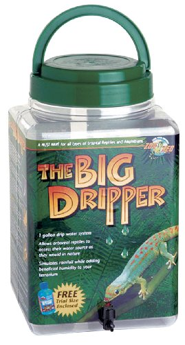 Zoo Med The Big Dripper, Gallon (Reptile Dripper)