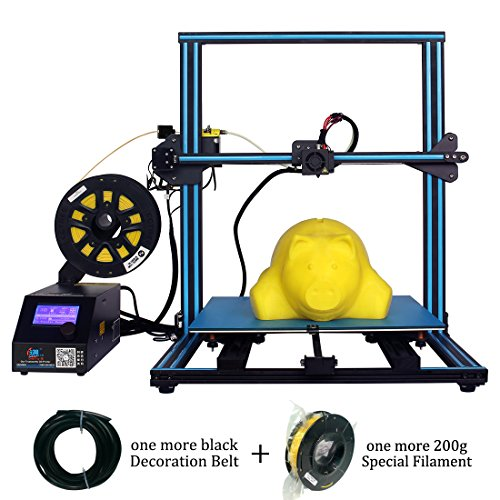 Creality CR-10S S5 3D Printer Upgrade Dual Z Large DIY kit with Filament Sensor,Resume Printing 500x500x500mm Black Blue ()