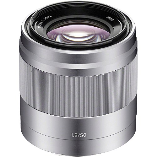 Sony 50mm f/1.8 Mid-Range Lens for Sony E Mount Nex Cameras (Best Lenses For Sony Nex Cameras)
