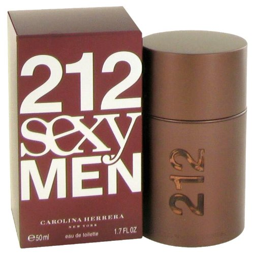212 Sexy By Carolina Herrera For Men. Eau De Toilette Spray 1.7-Ounce ()