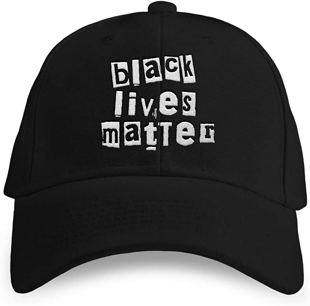 Black Lives Matter Embroidered Adjustable Dad Hat Unisex Adult
