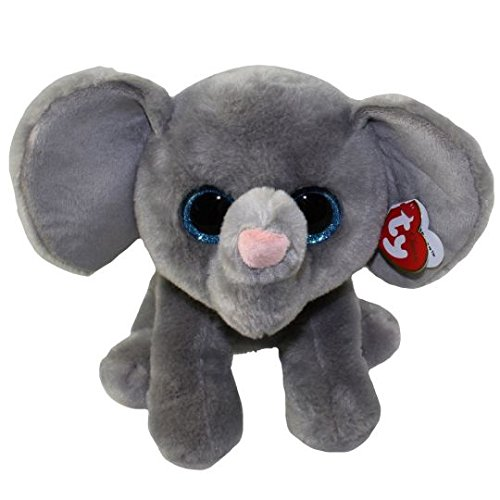 Ty Classic Beanies TY Classic Plush -TY Classic Plush - WHOPPER the Grey Elephant (13 inch from tail) 25cm Medium Buddy Size 9'' … by T&Y (Image #2)