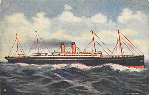 Photographic Postcards Steam Ship Antique Postcards Old Postcards Vintage Postcards Steamer Collectible Post Cards