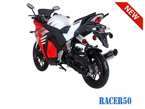 SmartDealsNow 49cc Sports Bike Racer50 Automatic Bike Racer 50 Motorcycle by TAO (Image #2)