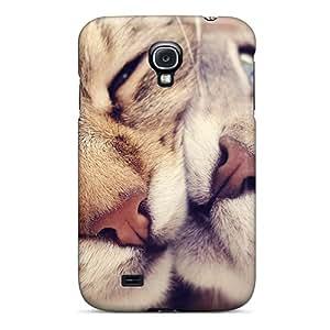 New Tpu Hard Case Premium Galaxy S4 Skin Case Cover(cats In Love)