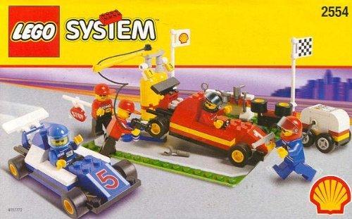 Lego SHELL Promotional Set: PIT STOP Set (Promotional Stop)