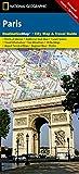 Paris (National Geographic Destination City Map)