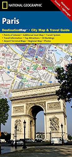 Paris (National Geographic Destination City Map) (Maps Paris)