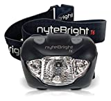Best Energizer Flashlight For Campings - nyteBright T6 Headlamp - Flashlight w/ White, Red Review