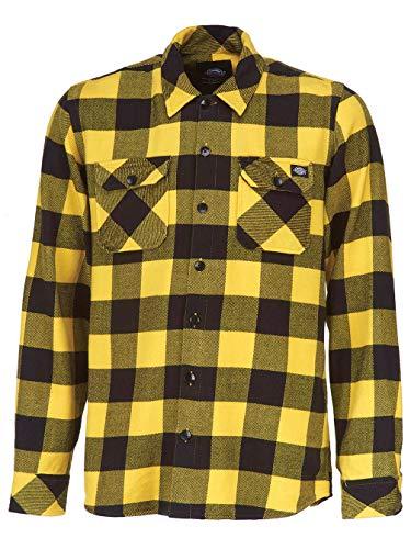 Dickies Hombre yellow Yl Amarillo Para Sacramento Camisa vnv8gP7qS