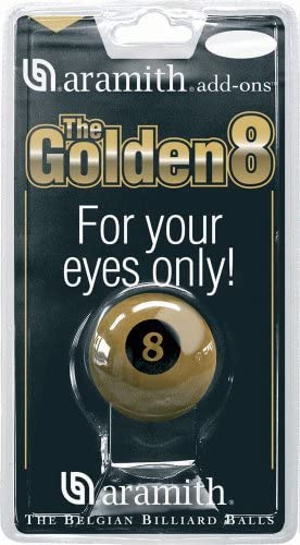 Aramith Billiard Balls Golden 8 Ball by Aramith: Amazon.es ...