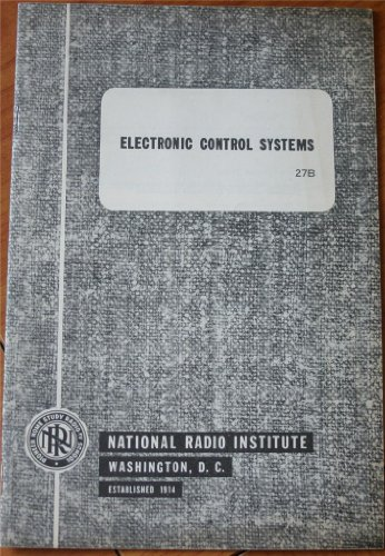 Electronic Control Systems 27B (National Radio Institute, Pioneer Home Study Radio-TV - Tv 27b
