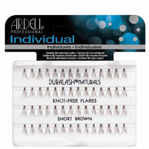 Ardell Knot-Free Individual Lash, Brown, Short