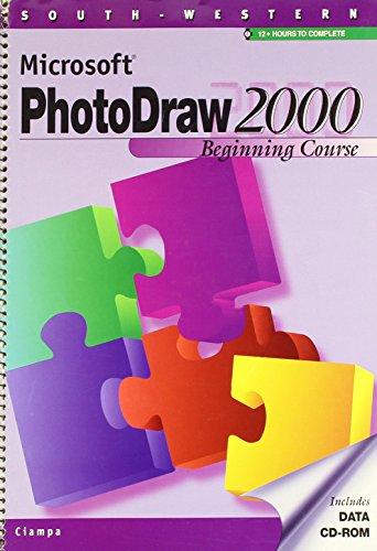 Download Microsoft Photodraw 2000 Manual: Beginning Course