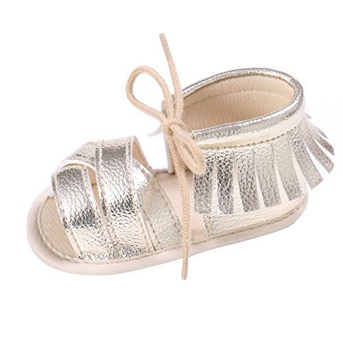 Weixinbuy Girls Tassel Strap Sandals product image