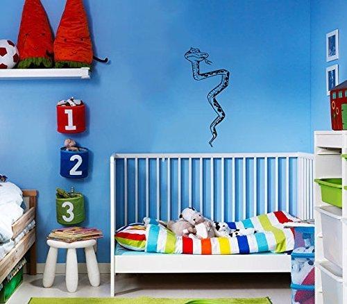 Vinyl Decal Mural Sticker Cute Snake Children'S Nursery Kids Room Window Sv2059