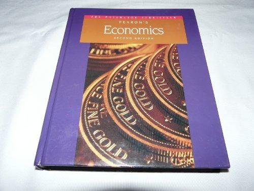 Fearon's economics (The Pacemaker curriculum) [7/30/1995] Jane S Lopus