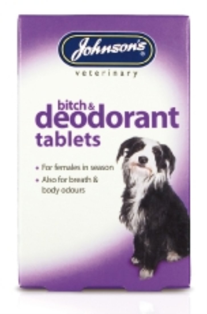 Johnsons Bitch and Deodorant Tablets (40Tab)