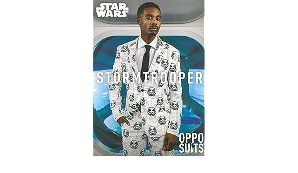 Hombre Star Wars Stormtrooper Oppo traje traje Medium/Large (EU52 ...