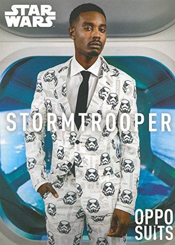 Hombre Star Wars Stormtrooper Oppo traje traje Large (EU54 ...