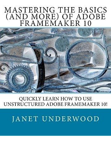 Adobe Framemaker Guide Books