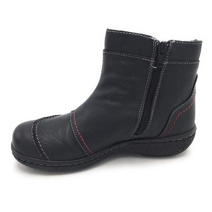 Amazon Botín Complementos La11834 es Y Laura Zapatos Negro Azaña IUzwUWqR