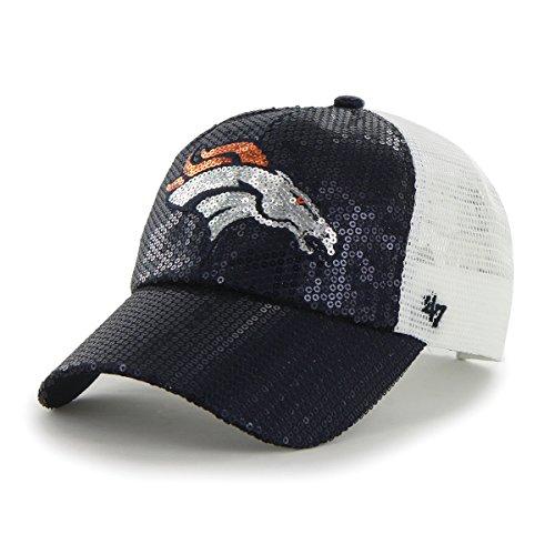 Denver Broncos Women's Mesh Sequin Hat