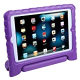 HDE iPad Mini Kids Case Shockproof Handle Stand Cover for Apple iPad Mini 2/3 Retina (Purple)