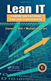 img - for Lean IT: Enabling and Sustaining Your Lean Transformation book / textbook / text book