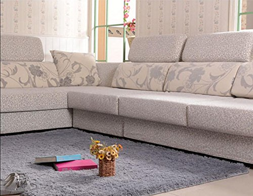 amazoncom actcut super soft indoor modern shag area silky smooth rugs fluffy rugs antiskid shaggy area rug dining room home bedroom carpet floor mat 4