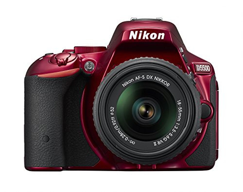 Nikon digital single-lens reflex camera D5500 18-55 VRII lens kit Red 24.16 million pixel 3.2-inch LCD touch panel D5500LK18-55RD