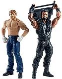 WWE Summer Slam Roman Reigns and Dean Ambrose Figure (2 Pack)