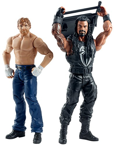 WWE Summer Slam Roman Reigns and Dean Ambrose Figure (2 Pack) by WWE