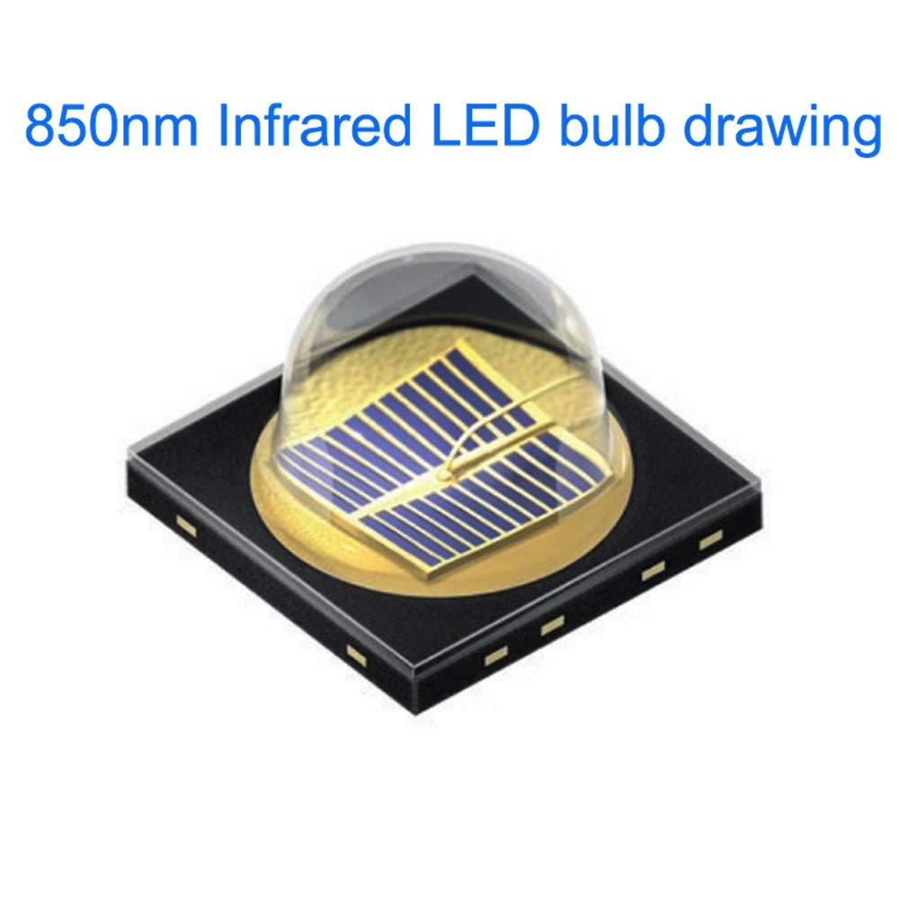 Zoomable 850nm Infrared Flashlight for Night Vision Devices 850nm IR Illuminator Flashlight Night Vision Flashlight Pack of 2 850nm IR Flashlight Infrared Illuminator Flashlight