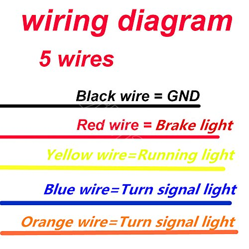 5 Wire Led Tail Light Wiring Diagram
