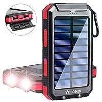 Solar Phone Charger,Yelomin 20000mAh Wat...