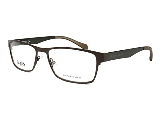 81a11a91b6e Image Unavailable. Image not available for. Color  Eyeglasses Boss Black  873 005N Matte ...