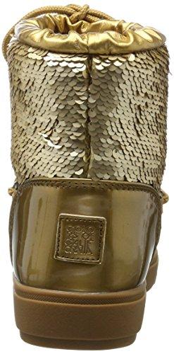 Stivali of Donna f17 Colours Ysn04 Gold Oro Neve da California T4qxwaCf