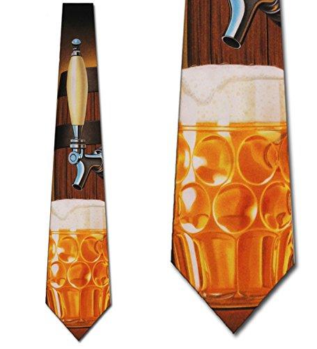 Beer Ties Beer Tapping Neckties Beer Keg Tie Mens Necktie