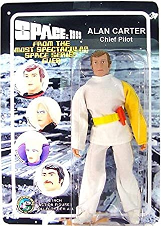 Space 1999 Mego Style Alan Carter Chief Pilot In Moonbase Alpha Uniform 8