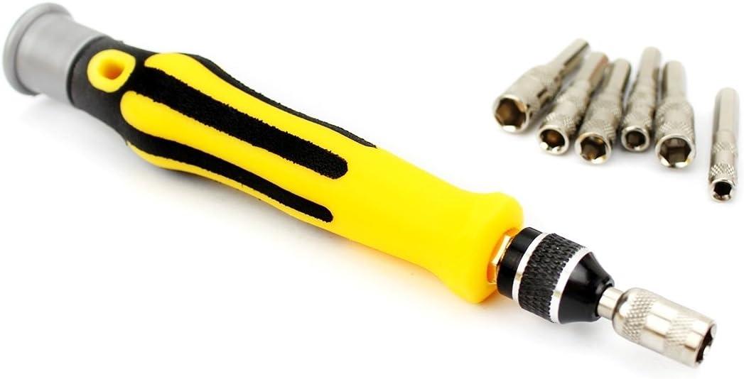 Deluxe Cell Phone Repair Tool Kits Durable JF-6092A 52 in 1 Professional Multi-Functional Screwdriver Set Repair Kits