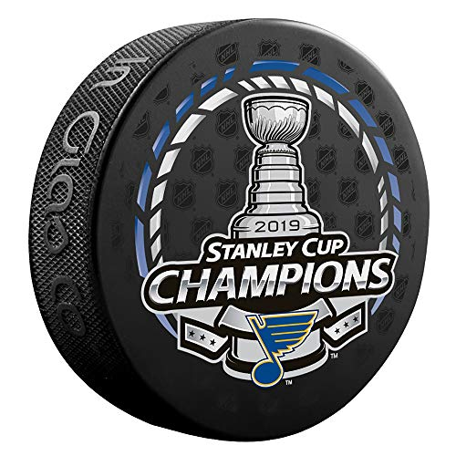 (2019 Stanley Cup Champions St. Louis Blues Officially Licensed Hockey Puck)