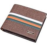 Bogesi Short Wallet For Men,Leather
