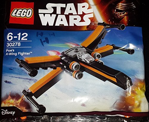LEGO Star Wars Poe's X-Wing Fighter Set (30278) Bagged (Star Wars Lego Bags)