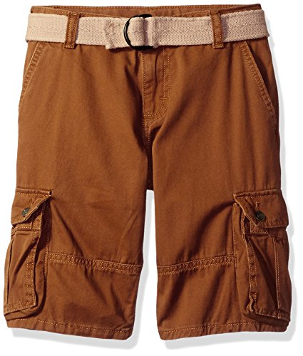 Wrangler Authentics Boys' Fashion Cargo Shorts, Spice, 6