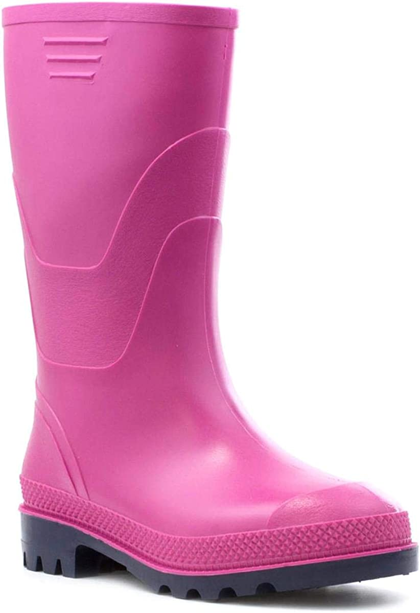 Pink Kids Size 13 to Adult Size 8 Size 5 UK Classic Pink Welly Zone