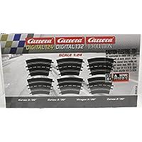 Carrera 20572 Curve 2/30, 6 Pieces - Digital 124/132 & Analog