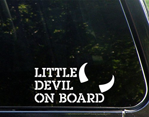 Sweet Tea Decals Little Devil On Board - 7-1/2