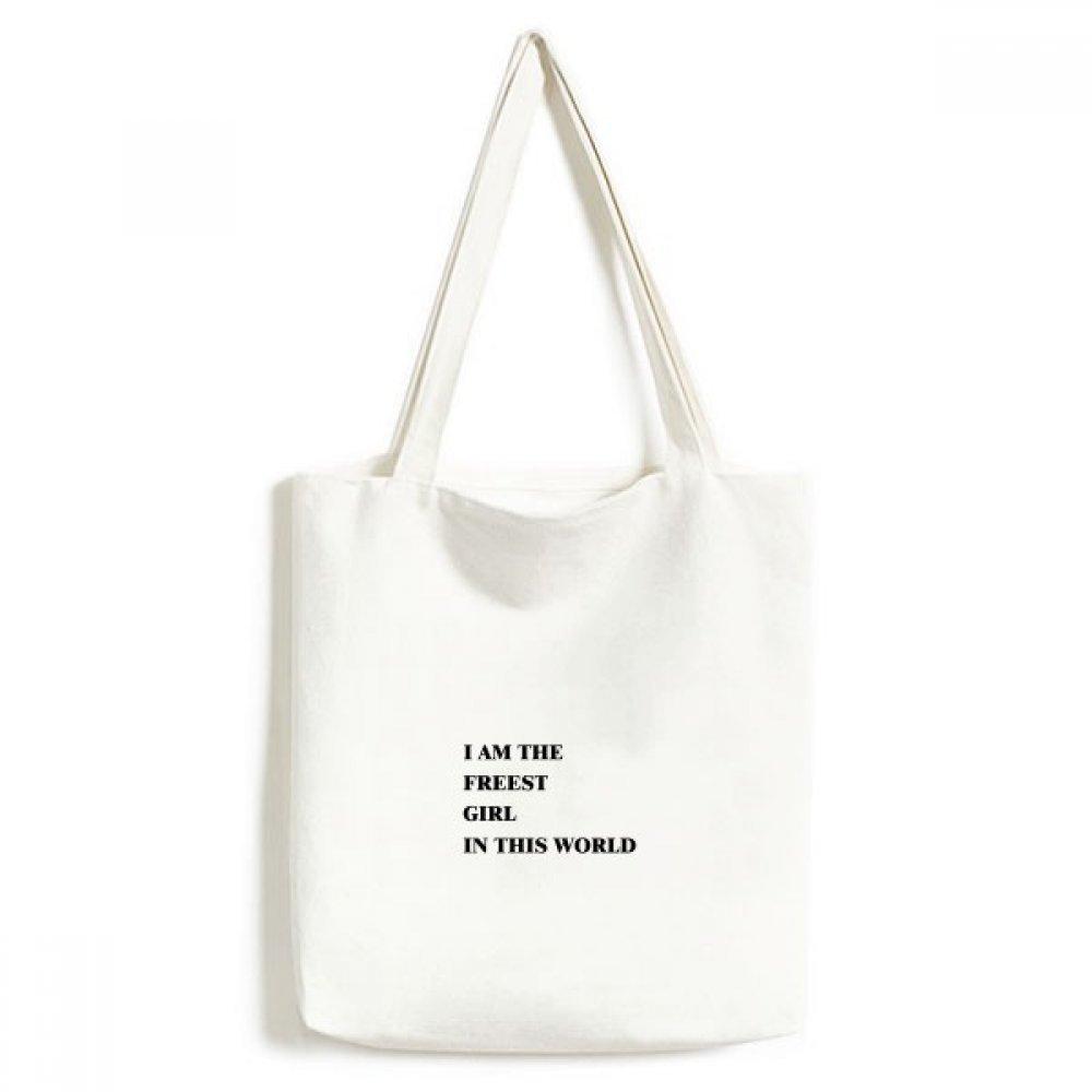 40cm Mehrfarbig Einkaufskörbe & -taschen DIYthinker Ich bin das Mädchen Freest Umwelt Waschbar Einkaufs-Tasche Fertigkeit-Geschenk 33