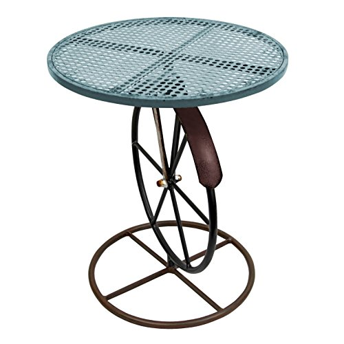 Red Carpet Studios Round Metal Garden Table